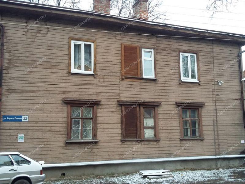 комната в доме 22 на улице Бориса Панина