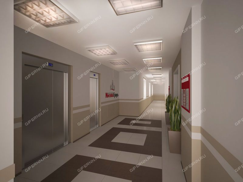 трёхкомнатная квартира в новостройке на Московское шоссе, 167, дом 61