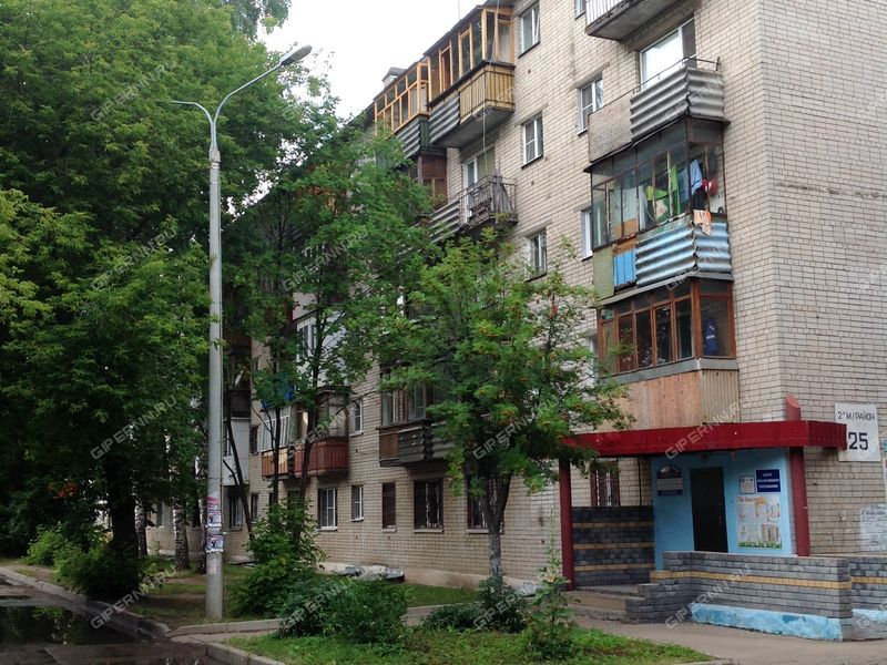 однокомнатная квартира в микрорайоне 2-й дом 25 город Кстово