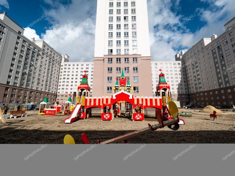 однокомнатная квартира в новостройке на Московское шоссе, 167, дом 61