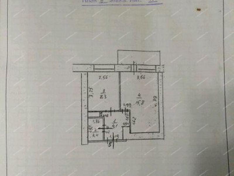 однокомнатная квартира в микрорайоне 2-й дом 19 город Лукоянов
