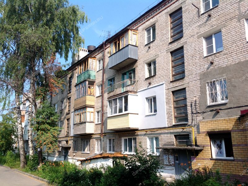 двухкомнатная квартира на улице Мира дом 9 город Кстово