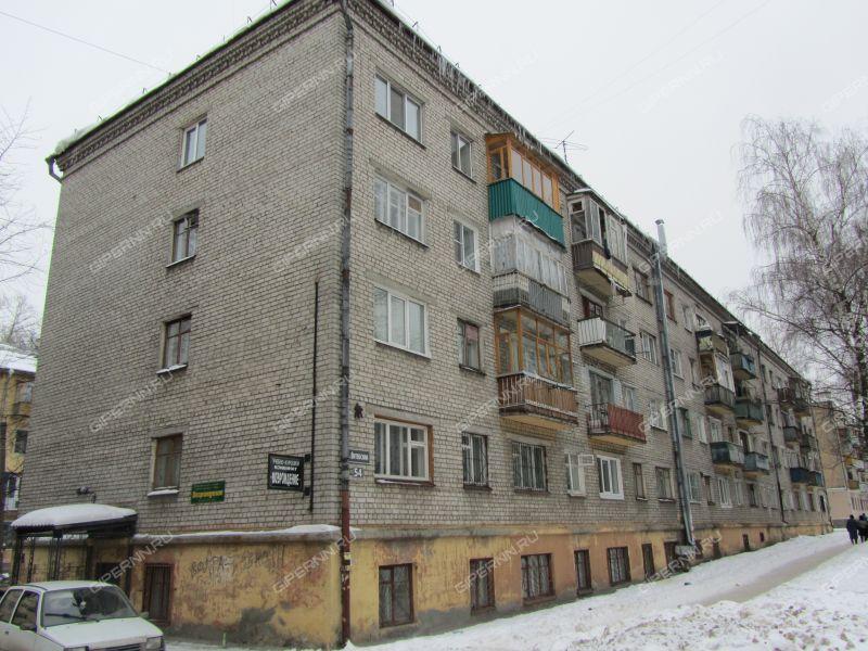 комната в доме 54 на улице Витебская