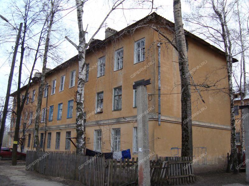 двухкомнатная квартира на улице Знаменская дом 27